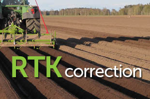 RTK correction